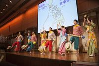 東京外語大学の大学生によるフィリピン民族舞踊