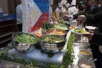 エビベジの野菜を使ったサラダ